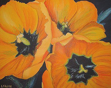 Art: Orange Crush by Artist Lindi Levison