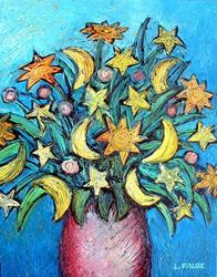 Art: Celestial Bouquet by Artist Lindi Levison