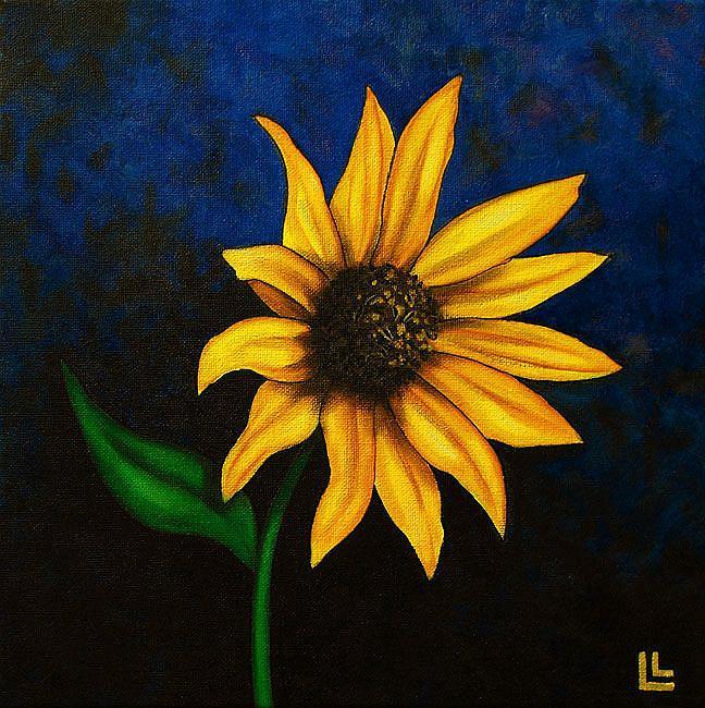 Art: Sol Flower Soul by Artist Lindi Levison