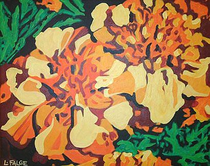 Art: Marigold Magic by Artist Lindi Levison