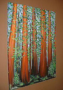 Detail Image for art Rapturous Redwoods