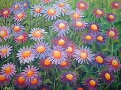 Art: Chrysanthemum Anthem by Artist Lindi Levison