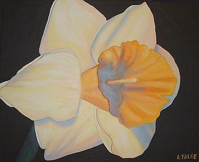 Art: Daffodil Daze by Artist Lindi Levison