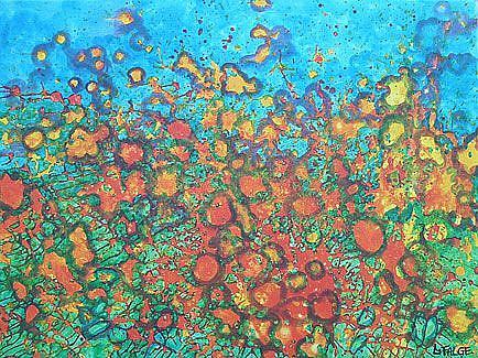 Art: Poppy Essence by Artist Lindi Levison