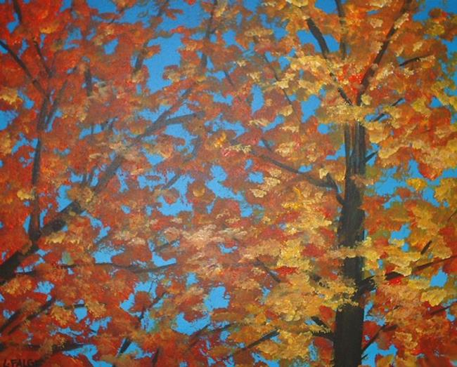 Art: Autumn Song by Artist Lindi Levison