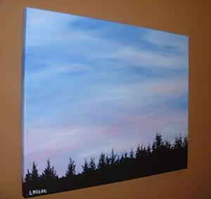Detail Image for art Oregon Twilight