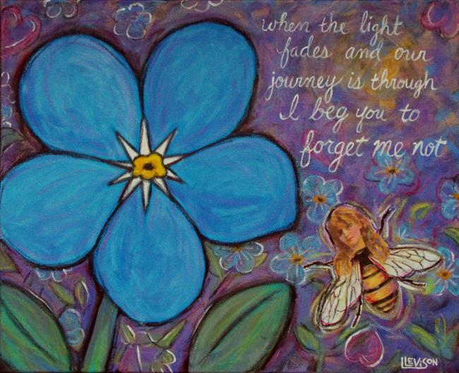 Art: Forget Me Not by Artist Lindi Levison
