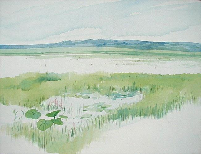 Art: Cooley Lake by Artist Cathy  (Kate) Johnson