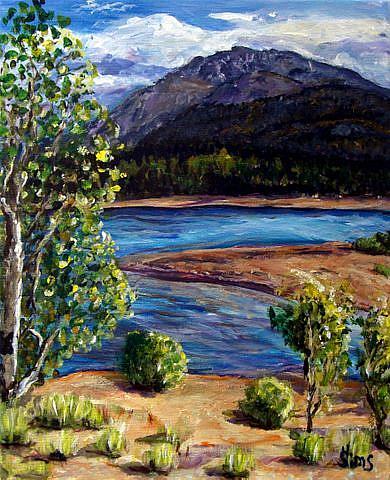 Art: Colorado by Artist Heather Sims