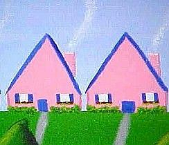 Detail Image for art Lil' Pink Houses