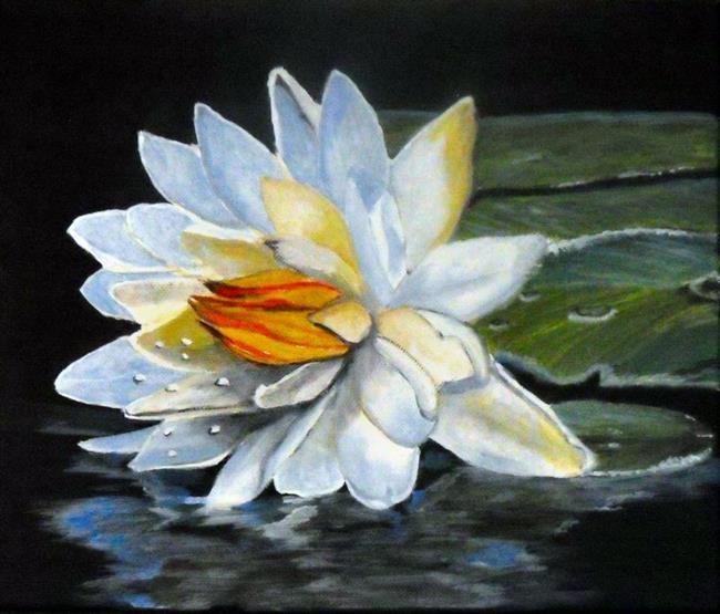 Art: waterlilly by Artist Dia Spriggs