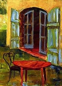 Detail Image for art FRENCH COUNTRY VILLAGE