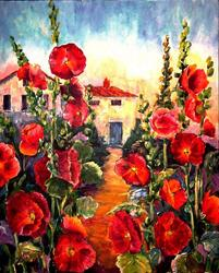 Art: Secret Garden by Artist Diane Millsap