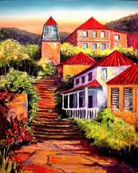 Art: St. Barth - SOLD by Artist Diane Millsap