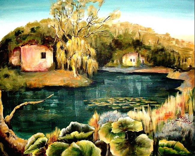 Art: A Quiet Place by Artist Diane Millsap