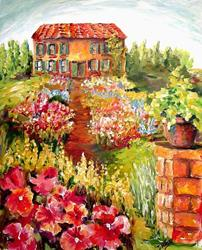 Art: Dream Garden by Artist Diane Millsap