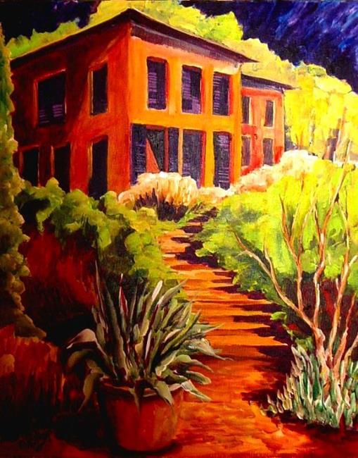 Art: Midnight Sun by Artist Diane Millsap