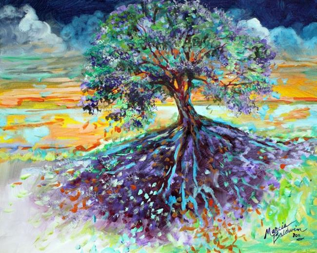 Art: TREESCAPE by Artist Marcia Baldwin