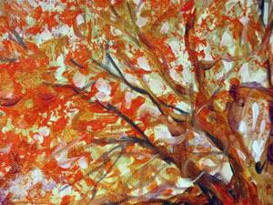 Detail Image for art GOLDEN TREE MORNING