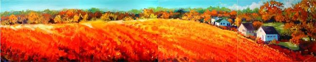 Art: AMBIENT POPPY FIELDS by Artist Marcia Baldwin