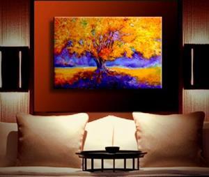 Detail Image for art OLD TREE GOLDEN