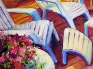 Detail Image for art BACK PORCH FLORAL