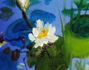 Detail Image for art WATERLILY LANDSCAPE