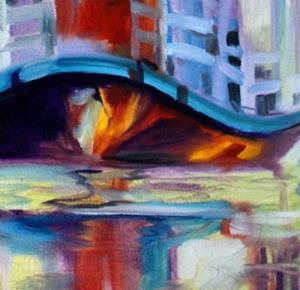 Detail Image for art BAYOU TAXI