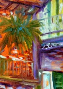 Detail Image for art FRENCH QUARTER CITYSCAPE