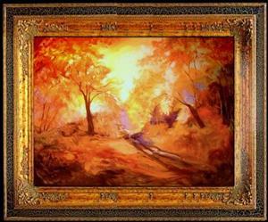 Detail Image for art GOLDEN PATH
