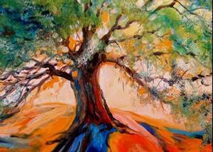 Detail Image for art OLD OAK TREE