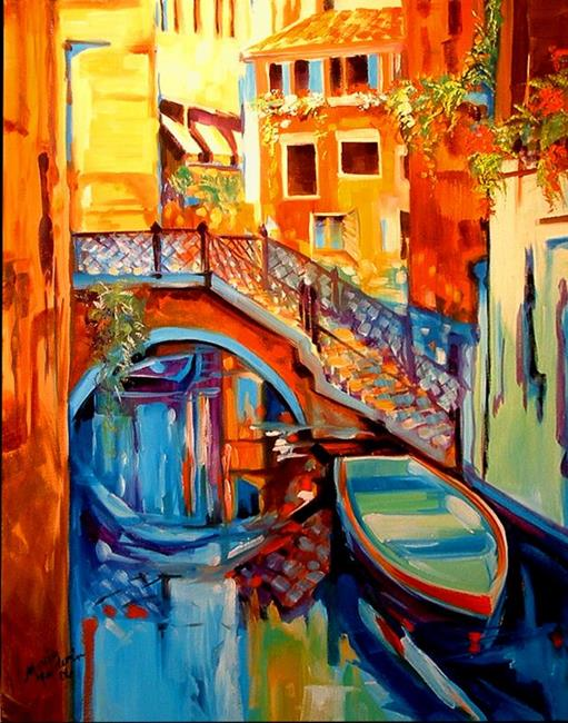 Art: VENICE REFLECTIONS by Artist Marcia Baldwin