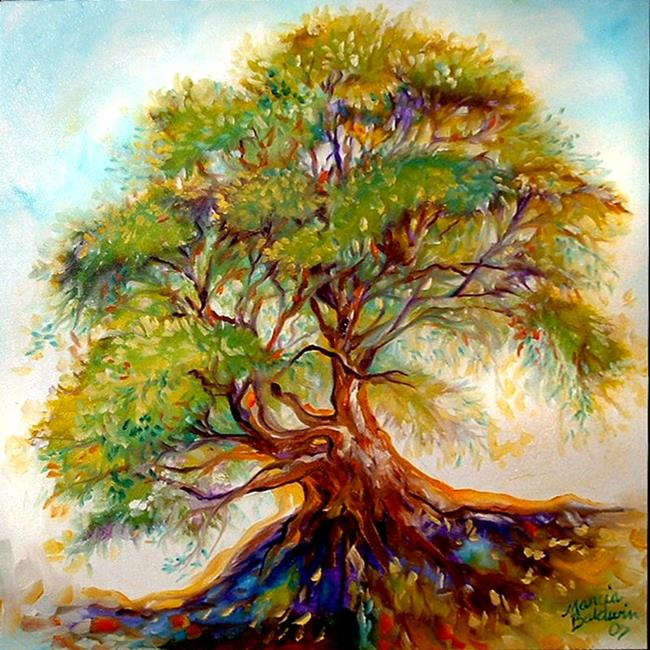 Art: TREE OF LIFE IX by Artist Marcia Baldwin