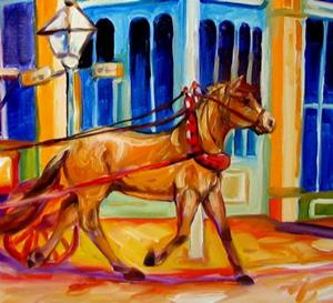 Detail Image for art EARLY MORNING FRENCH QUARTER