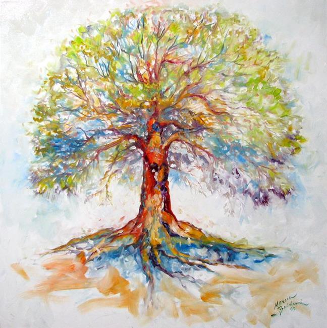 Art: TREE of LIFE ~ HOPE by Artist Marcia Baldwin