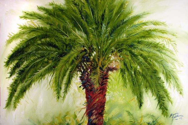 Art: THE PALM by Artist Marcia Baldwin