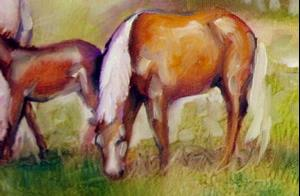Detail Image for art MARES & FOALS
