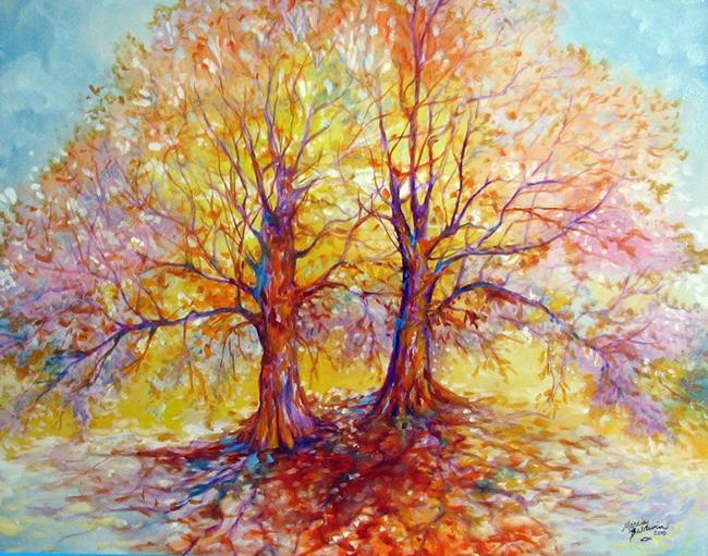 Art: TREE of LIFE DUO by Artist Marcia Baldwin
