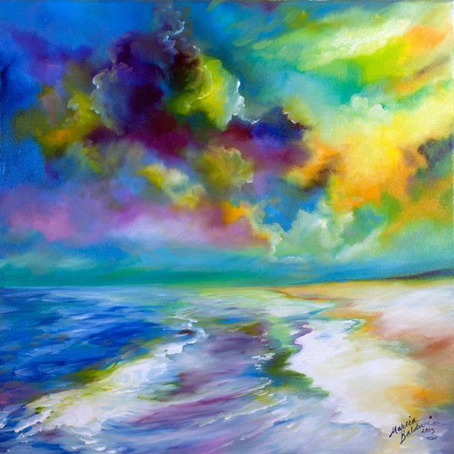 Art: OCEAN & BEACH by Artist Marcia Baldwin