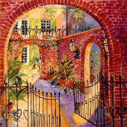 Art: OPEN GATE by Artist Marcia Baldwin