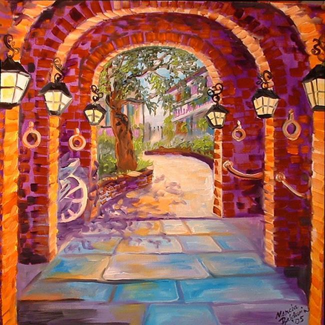 Art: NEW ORLEANS CARRIAGEWAY by Artist Marcia Baldwin