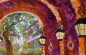 Detail Image for art NEW ORLEANS CARRIAGEWAY