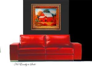 Detail Image for art AUTUMN BARN
