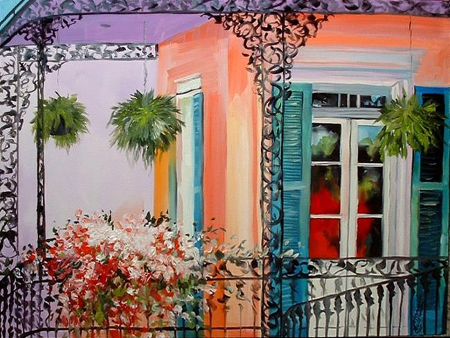 Art: IN THE FRENCH QUARTER by Artist Marcia Baldwin