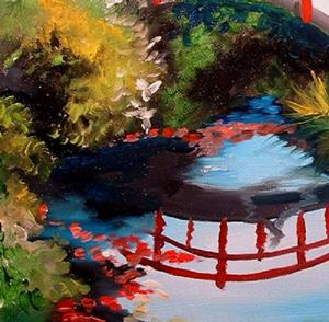 Detail Image for art The Red Bridge