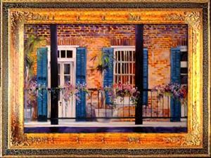 Detail Image for art FRENCH QUARTER BALCONY