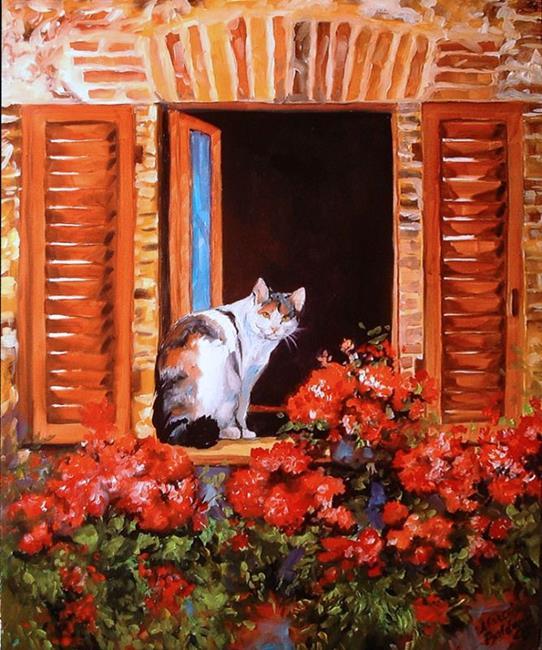 Art: THE WINDOW by Artist Marcia Baldwin