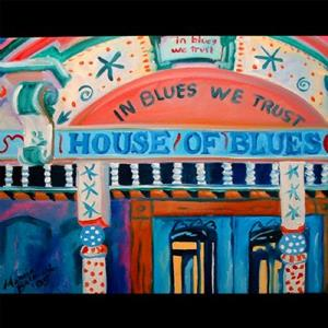 Detail Image for art NEW ORLEANS HOUSE OF BLUES