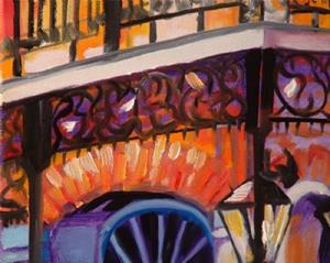Detail Image for art NIGHTFALL IN NEW ORLEANS