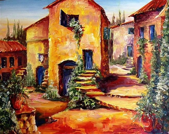 Art: Mediterranean Sunlight - SOLD by Artist Diane Millsap